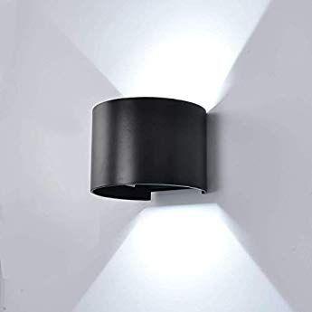 LED Außen Wand Lampen weiß Veranda Treppen Beleuchtung