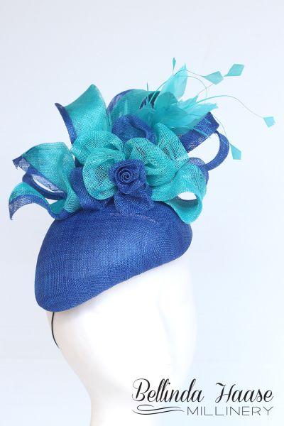 7054c69afc0 kellie Royal Blue Fascinator, Fascinator Hats, Fascinators, Kentucky Derby  Fascinator, Derby Hats
