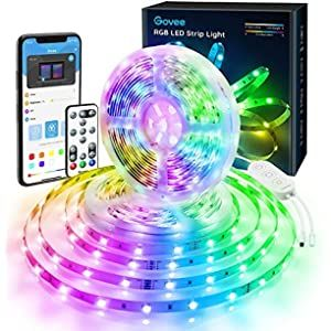 Militisto Rainbow Led Light Strips App Control Dreamcolor Rgbic Led Strip Lights 32 8ft 1 Roll Music In 2021 Led Strip Lighting Strip Lighting Rgb Led Strip Lights