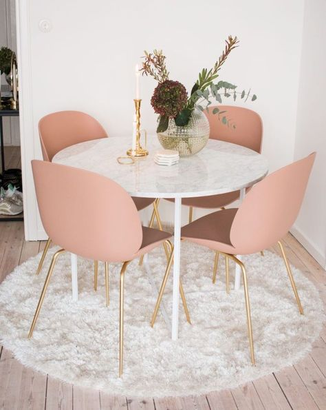 Pink home decor inspo   Millenial Pink Home