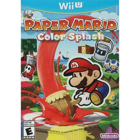 Shop By Video Game In 2020 Paper Mario Color Splash Mario Color