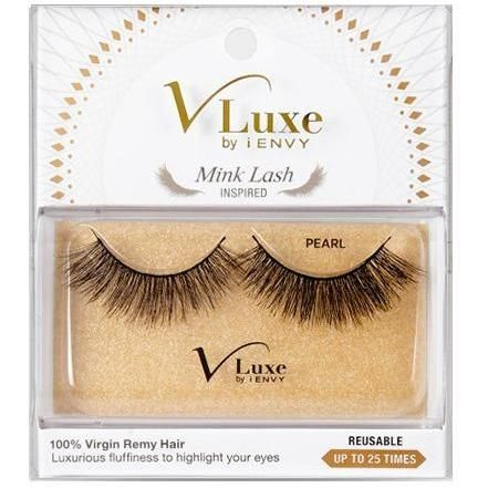 037ad87c405 V-LUXE I ENVY - VLEF01 PEARL - MINK LASH INSPIRED 100% VIRGIN REMY HAIR BY  KISS
