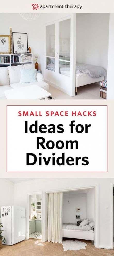46 Ideas Wall Partition Diy Studio Apartments Diy Wall