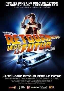 Couverture Retour Vers Le Futur Retour Vers Le Futur Affiche Affiche Cinema