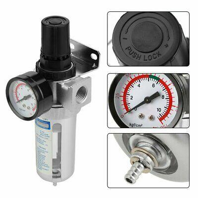 Ad Ebay Rc 1 4 Air Compressor Moisture Trap Water Oil Pneumatic Air Filter Regulator Us Air Compressor Air Compressor Oil Air Compressor Regulator