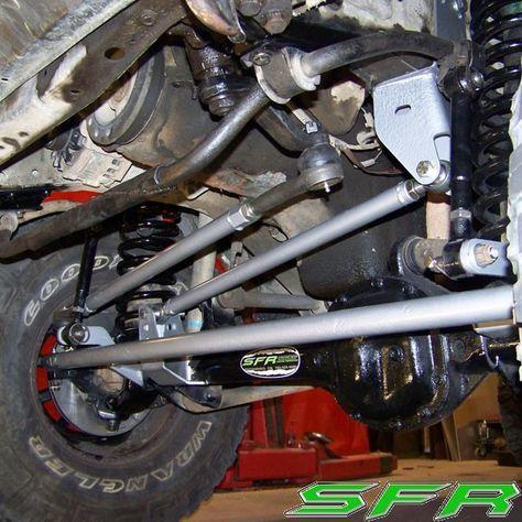 Stinky Fab Racing Sfr High Roller Xj To Wj High Steering Big
