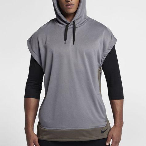 bd24b0785ea37a Nike Dri-FIT Men s Sleeveless Training Hoodie Size 2XL (Gunsmoke ...