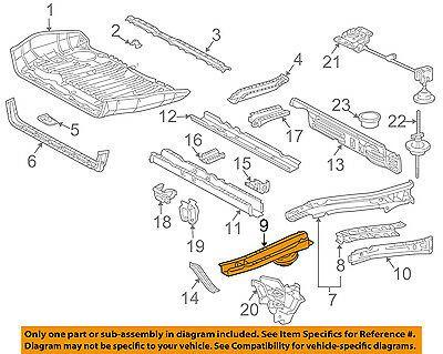 Toyota Oem 05 10 Sienna Floor Rails Rear Sidemember Right 5760108022 Ebay In 2020 Oem Ebay Toyota