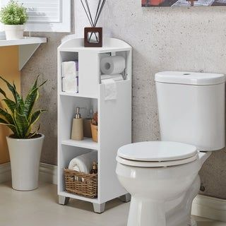 Overstock Com Online Shopping Bedding Furniture Electronics Jewelry Clothing More Bathroom Corner Storage Corner Storage Corner Storage Shelves