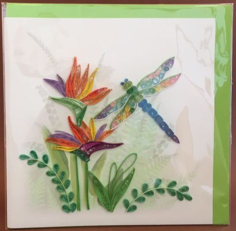 Dragonfly Quilling