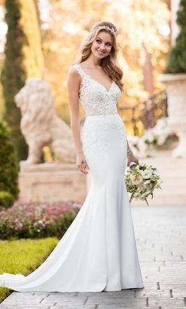Stella York 6476 Wedding Dress New Size 12 800 French Lace Wedding French Lace Wedding Dress Wedding Dresses Lace