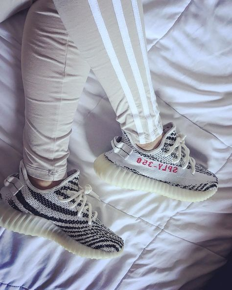 Who's excited for the Yeezy Boost 350 V2 Zebra restock? Find