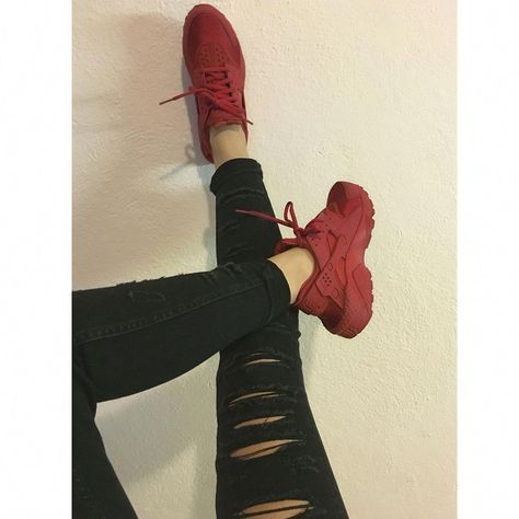 Red Huarache My favorite sneakers