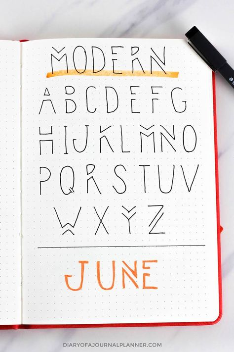 Lettering Fonts Discover Bullet Journal Fonts Fonts For Bullet Journal You Need To Try!) Looking for bullet journal fonts to embellish your journal and improve your handwriting? Check the amazing fonts for bullet journal that you can try today!