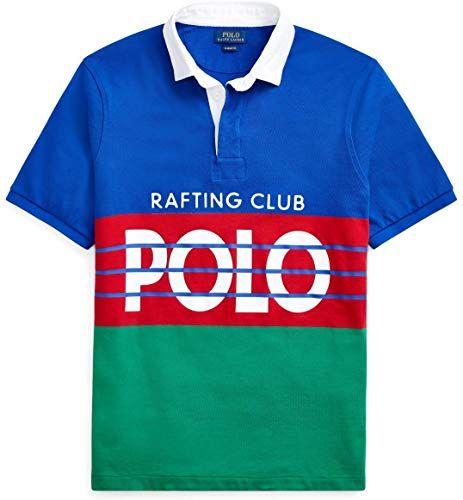 Best Seller Polo Ralph Lauren Mens Hi Tech Rafting Club Polo Shirt Short Sleeve Online Fancylookstar Polo Ralph Lauren Mens Polo Ralph Lauren Mens Shirts