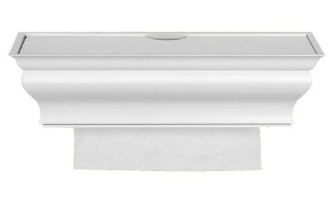 Home Accents Fantail Goldfish Towel Bar Chrome Finish 24