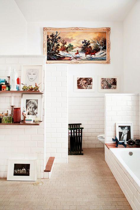 Piastrelle Da Bagno Pubblico Com Imagens Decoracao De Casa