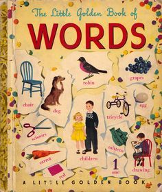 The Little Golden Book Of Words