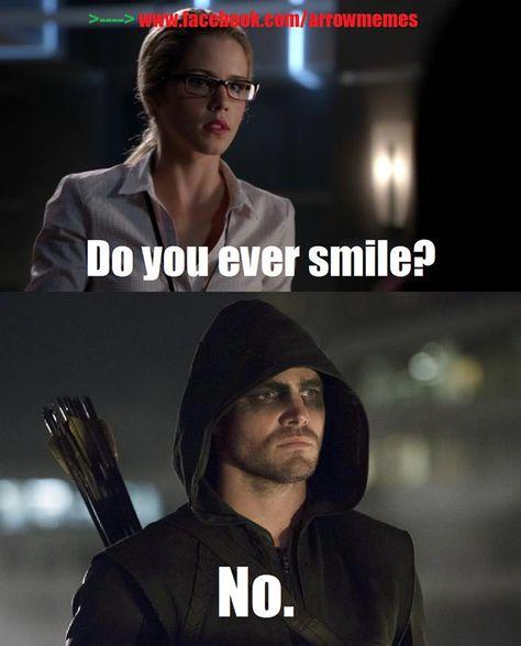The Arrow funny meme