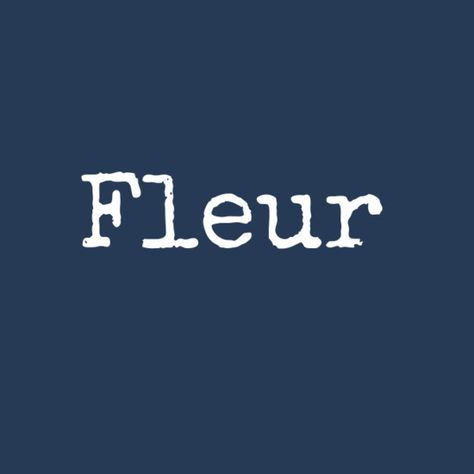 Fleur - Nerdy Baby Names That Are Totally Cute - Photos