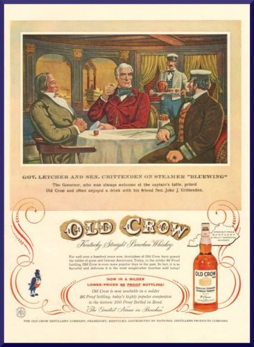 1957 Vintage Ads Alcohol Marketing Illustrators