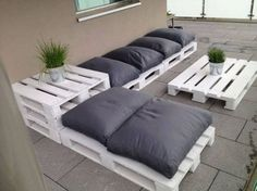 salon de jardin palette - Google Search | muebles para el jardin ...