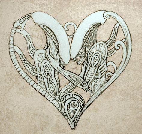Xenomorph Valentine by hontor on DeviantArt