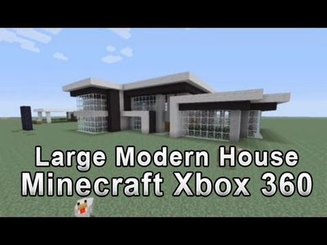 Large Modern House Tutorial Minecraft Xbox 360 1 Shhh