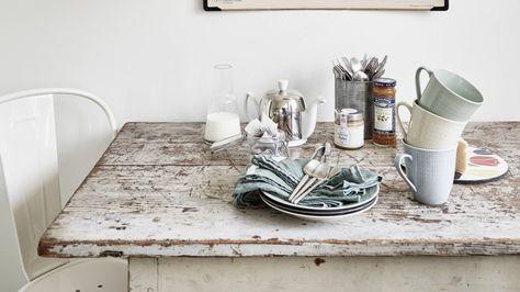 Liefde voor vintage eettafels - Lovelyhomie.com