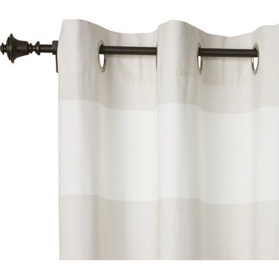 Birch Lane Heritage Bell Single Curtain Rod And Hardware Set Size