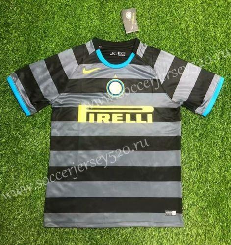 2020 2021 Inter Milan Away Black Gray Thailand Soccer Jersey Aaa 407 In 2020 Soccer Jersey Inter Milan Football Shirts