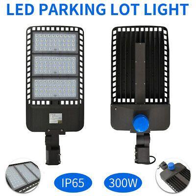 Sponsored Ebay 300w Led Parking Lot Shoebox Street Light Outdoor Ip65 Lamp 5700k Fix In 2020 Led Parking Lot Lights Led Street Lights Parking Lot Lighting