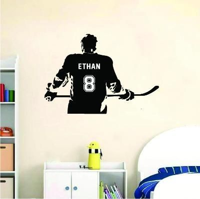 Sportesi Make Your Sport Unique And Exclusive In Every Day In 2020 Wall Stickers Wall Stickers Room Hockey Room