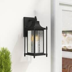 Charlton Home Cajigas Oil Burnished Bronze 1 Bulb Outdoor Wall Lantern Wayfair Outdoor Wall Lantern Wall Lantern Outdoor Walls