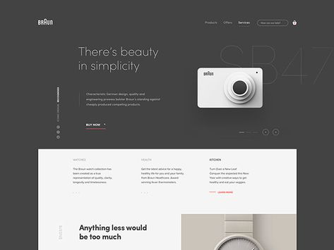 50 Excellent Dark Background Web UI Designs – Bashooka