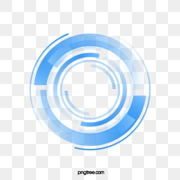Technology Sense Big Data Blue Circle Technological Sense Circle Blue Png And Vector With Transparent Background For Free Download Big Data Visualization Big Data Design Big Data Infographic
