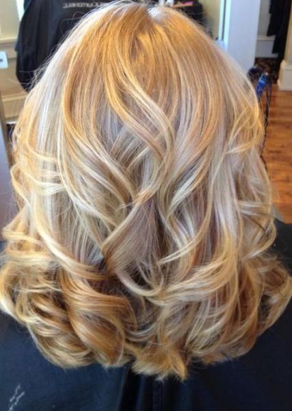 59 Ideen für Hochzeitsfrisuren Mittellange Locken Blondinen  Hairstyles & Nails // DIY