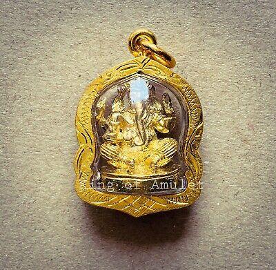 Mini Phra Kaew Morakot Emerald Buddha Thai Amulet Pendant Lucky Rich Holy