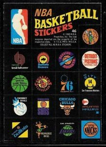 Details about 1971-72 TOPPS TRIOS NBA BASKETBALL TEAM LOGO STICKERS LAKERS  CELTICS CARD #46 NM