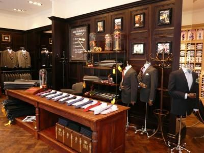 Canali Flagship Store Shanghai At West Gate Mall