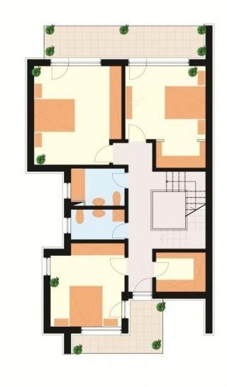 Modelos De Casas De Dos Pisos Por Dentro Y Por Fuera Casas De Dos Pisos Planos De Casas Casa De 4 Dormitorios