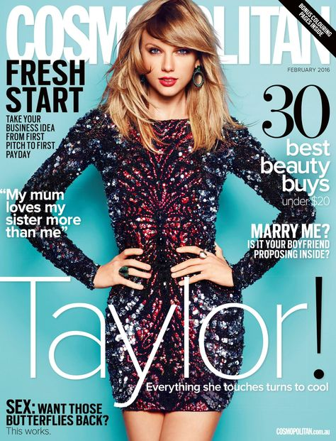 Taylor Swift for Cosmopolitan Australia (February 2016)