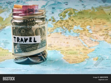 Travel Savings Money Image & Photo (Free Trial)