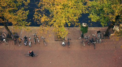 Leiden Street From Above By Daria Epicantus Its Free To Use Cc Click On Photo To See It In Full Size