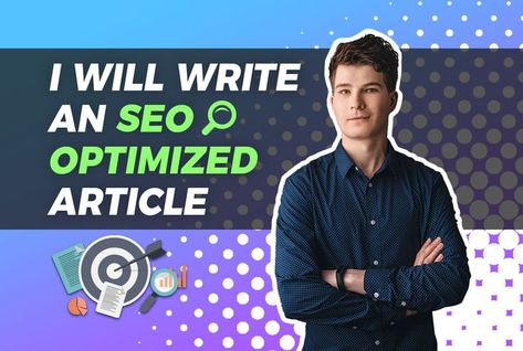 Fiverr - Write an seo optimized blog article by Gregbrad