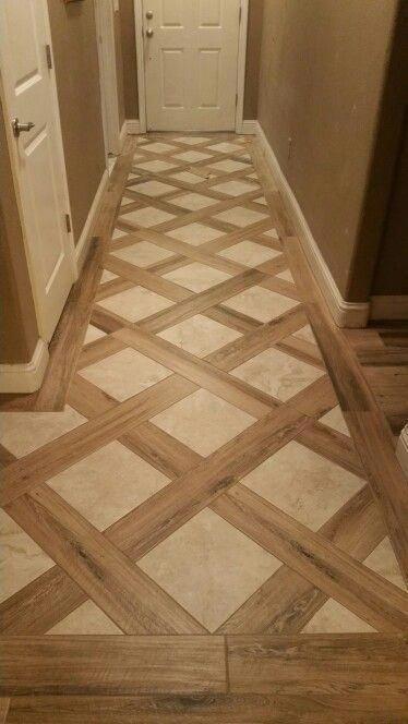 Daltile Sd14 6x36 Ev98 12x12 Interiorfrontdoorcolors Woodflooringideaswaterproof House Flooring Wood Tile Home Room Design