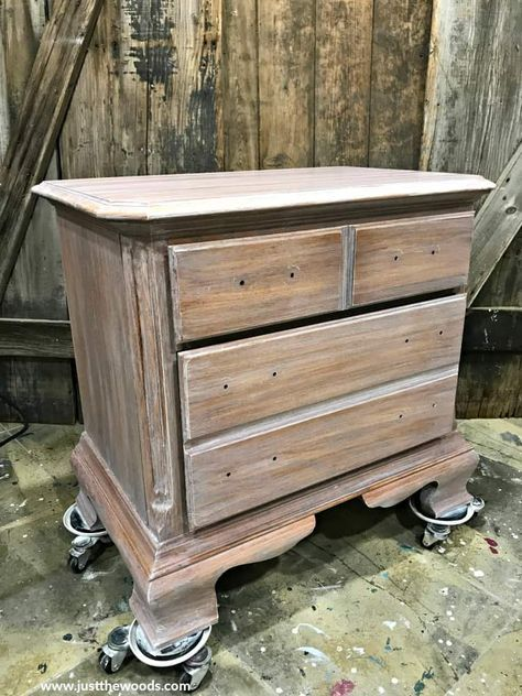 How To Whitewash Wood Furniture For, White Washed Wood Furniture