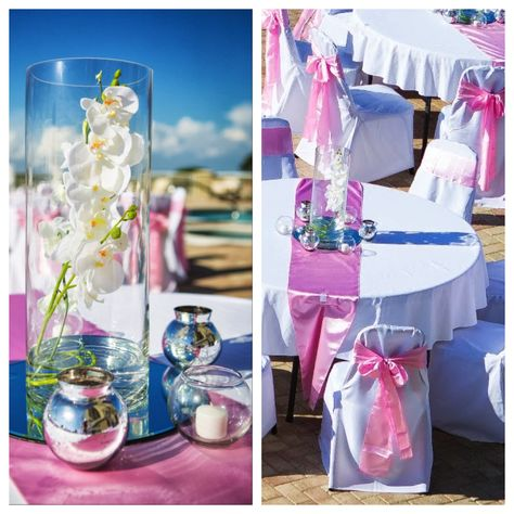 panama city beach wedding reception by princess wedding co