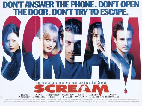 Awesome Large Size Scream Poster