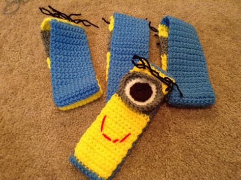Minion Booties(:   Baby Things!!<3   Pinterest